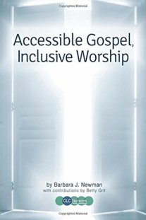"""Book cover for, """"Accessible Gospel, Inclusive Worship."""""""