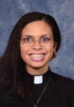 A headshot of Rev. Rebecca Holland